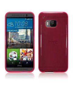 Terrapin Θήκη Σιλικόνης Slim Fit Silicone Case (118-028-231) Ημιδιάφανη Ροζ (HTC One M9)