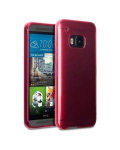 Terrapin Θήκη Σιλικόνης Slim Fit Silicone Case (118-028-233) Ημιδιάφανο Κόκκινο (HTC One M9)