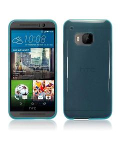 Terrapin Θήκη Σιλικόνης Slim Fit Silicone Case (118-028-234) Ημιδιάφανο Μπλε (HTC One M9)
