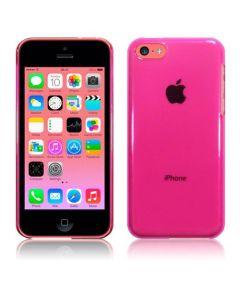 Terrapin Θήκη Σιλικόνης Slim Fit Silicone Case (125-107-003) Ημιδιάφανη Ροζ (iPhone 5c)