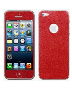 OEM Αυτοκόλλητη Μεμβράνη Screen Cover -  Κόκκινο (iPhone 4s)
