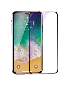 Baseus 3D Tempered Glass Full Screen Protector with Black Frame (iPhone X / Xs / 11 Pro)