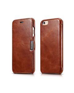 iCarer Vintage Series Side-Open Δερμάτινη Θήκη (136588) Brown (iPhone 6 / 6s)