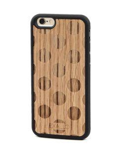 Exallo Wooden Case VIDA BLUE Ξύλινη Θήκη (iPhone 6 / 6s)