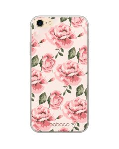 Babaco Flower Silicone Case Θήκη Σιλικόνης Light Pink (iPhone 6 / 6s)