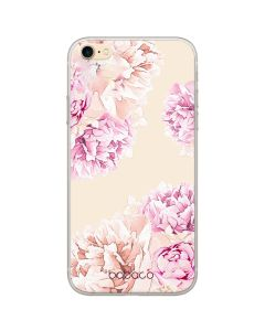 Babaco Flowers Silicone Case Θήκη Σιλικόνης 001 Transparent (iPhone 6 / 6s)