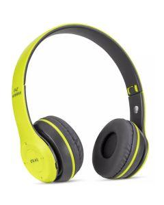 Bluetooth Wireless Headphones P47 4.2+EDR Ασύρματα Στερεοφωνικά Ακουστικά Green