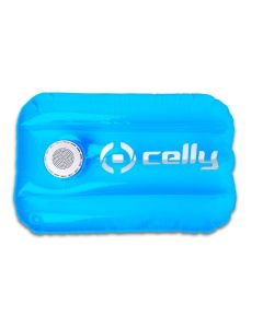 Celly Pool Pillow Bluetooth Speaker 3W Φορητό Ηχείο Light Blue