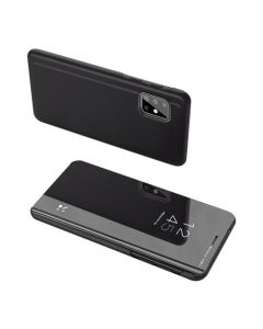 Clear View Standing Cover - Black (Samsung Galaxy S20 Plus)