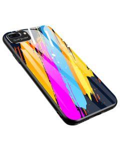 Color Glass TPU Case Θήκη με Σχέδιο Pattern 3 (iPhone 7 / 8 / SE 2020)