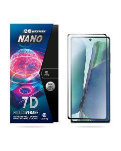 Crong 7D Nano Flexi Full Face Black (CRG-7DNANO-SGN20) Αντιχαρακτικό 9H Hybrid Screen Protector (Samsung Galaxy Note 20)