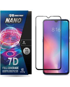 Crong 7D Nano Flexi Full Face Black (CRG-7DNANO-XMI9) Αντιχαρακτικό 9H Hybrid Screen Protector (Xiaomi Mi9)