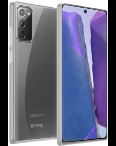 Crong Slim Flexible Silicone Case (CRG-CRSLIM-SGN20-TRS) Θήκη Σιλικόνης Clear (Samsung Galaxy Note 20)