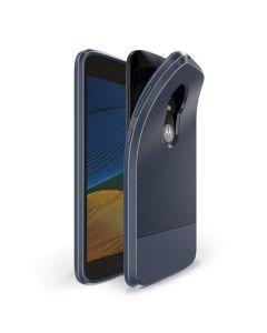 Dux Ducis Mojo Carbon Rugged Armor Case Dark Blue (Motorola Moto E5 Play)