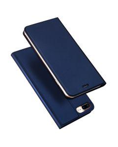 DUX DUCIS SkinPro Wallet Case Θήκη Πορτοφόλι με Δυνατότητα Stand - Navy Blue (iPhone 7 Plus / 8 Plus)
