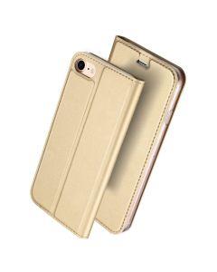 DUX DUCIS SkinPro Wallet Case Θήκη Πορτοφόλι με Δυνατότητα Stand - Gold (iPhone 6 / 6s)
