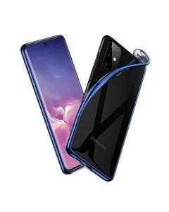 ESR Essential Crown Slim Fit TPU Case Θήκη Σιλικόνης Clear / Blue (Samsung Galaxy S20 Plus)