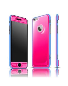 Exofab Selfie Cotton Candy Gel / Blue Shell for iPhone 6 / 6s