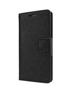 Tel1 Fancy Diary Case Θήκη Πορτοφόλι με δυνατότητα Stand Black (Huawei Mate 9 Pro)