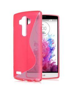Θήκη Σιλικόνης Slim Fit Silicone Case Ροζ (LG G4)