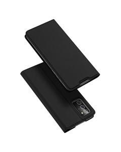 DUX DUCIS SkinPro Wallet Case Θήκη Πορτοφόλι με Stand - Black (Samsung Galaxy Note 20)