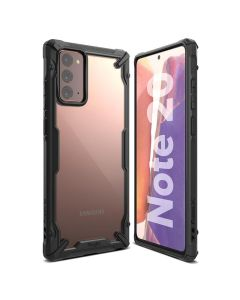 Ringke Fusion-X Σκληρή Θήκη με TPU Bumper Black (Samsung Galaxy Note 20)