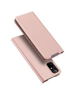 DUX DUCIS SkinPro Wallet Case Θήκη Πορτοφόλι με Stand - Rose Gold (Samsung Galaxy S20 Plus)