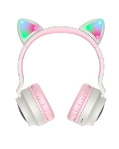 HOCO W27 Cat Ear Bluetooth Wireless Headphones Ασύρματα Ακουστικά Grey