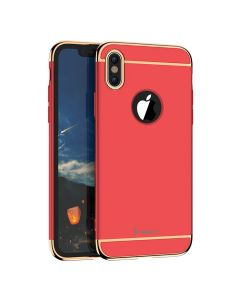 iPAKY Luxury Armor 3 in 1 Case Red (iPhone X)