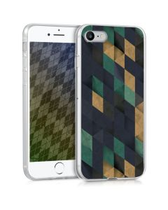 KWmobile Θήκη Σιλικόνης Slim Fit Silicone Case (41448.05) Mosaik (iPhone 7 / 8 / SE 2020)