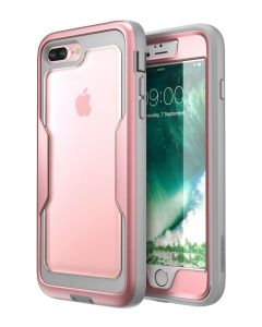 i-Blason Ανθεκτική Θήκη Magma Full Body Case With Built-In Screen Protector Rose Gold (iPhone 7 Plus / 8 Plus)