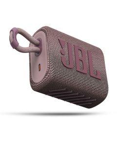 JBL Go 3 Bluetooth Speaker Αδιάβροχο Φορητό Ηχείο Pink