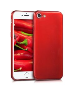 KWmobile TPU Silicone Case (42201.97) High Gloss Red (iPhone 7 / 8 / SE 2020)