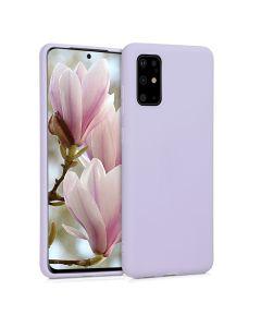 KWmobile TPU Silicone Case (51216.108) Lavender (Samsung Galaxy S20 Plus)