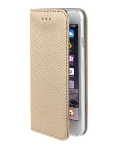 Forcell Smart Book Case με Δυνατότητα Stand Θήκη Πορτοφόλι Χρυσή (iPhone 6 / 6s)
