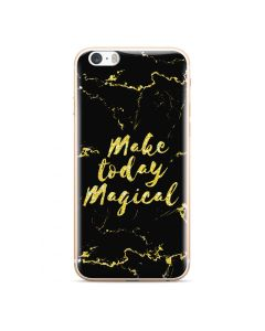 Marble Art Gel Case Magical Θήκη Σιλικόνης Black (iPhone 5 / 5s / SE)