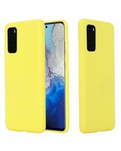 My Colors Original Liquid Silicone Case Θήκη Σιλικόνης Yellow (Samsung Galaxy S20 Plus)
