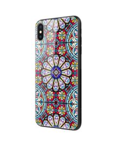 Nillkin Dreamland Glass TPU Case Black (iPhone X / Xs)