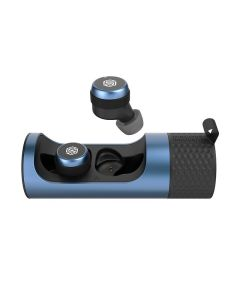 Nillkin TW004 GO TWS Wireless Bluetooth Stereo Earbuds with Charging Box - Blue