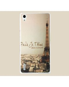 Πλαστική Λεπτή Θήκη Paris (Huawei Ascend P7)