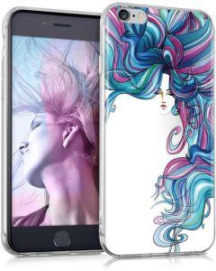 KWmobile Slim Fit Gel Case Rainbow Girl (38296.07) Θήκη Σιλικόνης (iPhone 6 / 6s)