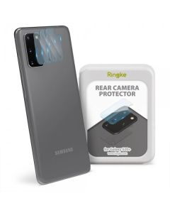 Ringke Camera Lens Tempered Glass Film Prοtector 3-Pack (Samsung Galaxy S20 Plus)