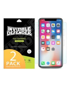 Ringke Invisible Defender Curved Screen Protector - 2 τεμαχίων (iPhone X / Xs)