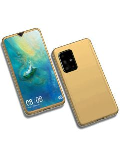 360 Full Cover Case & Screen Protector - Gold (Samsung Galaxy S20 Plus)