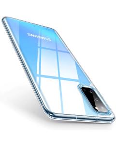 Ultra Slim 0.5mm Silicone Case Θήκη Σιλικόνης Διάφανο (Samsung Galaxy S20 Plus)