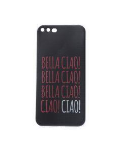 Slim Fit Gel Case La Casa De Papel Θήκη Σιλικόνης Bella Ciao Black (iPhone 7 Plus / 8 Plus)