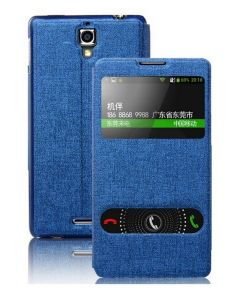 Dual Window Preview Case - Μπλε Sparkle (Lenovo S660)