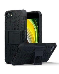 Terrapin Ανθεκτική Rugged Θήκη με Stand (131-122-019) Black (iPhone 7 / 8 / SE 2020)