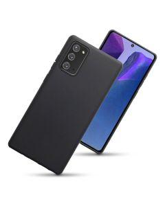 Terrapin Θήκη Σιλικόνης Slim Fit Silicone Case (118-002-857) Black Matte (Samsung Galaxy Note 20)