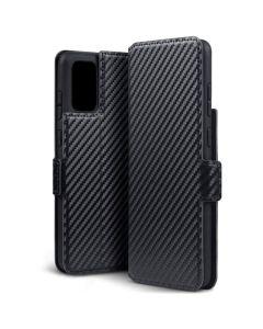 Terrapin Θήκη Πορτοφόλι Wallet Case (117-002a-244) Carbon Fibre Black (Samsung Galaxy S20 Plus)